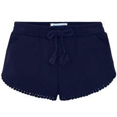 Mayoral Mädchen Shorts Jersey, dunkelblau - 607-20