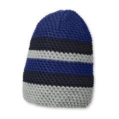 Jungen Beanie Strickmütze von Sterntaler, blau - 4721705