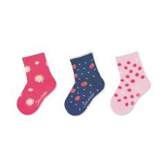 """Mädchen Socken Dreierpack """"Sommermotive"""" ,pink -8322125"""