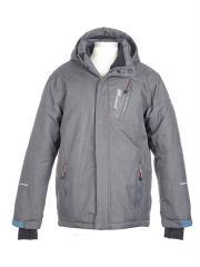 Jungen Skijacke Winterjacke Funktionsjacke, grau - 6812805