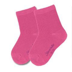 Mädchen Söckchen 2er-Pack, pink einfarbig - 8501720