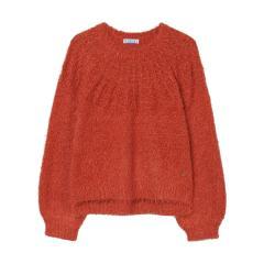 Mayoral Mädchen Kinder Stricksweatshirt Pullover langarm mit Rundkragen, rot - 7352
