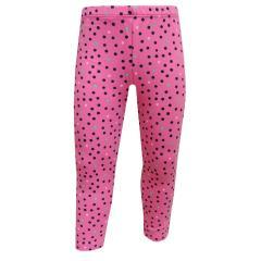 Baby Mädchen Legging gepunktet, rosa