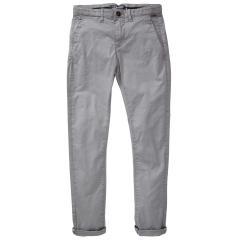 Jungen Hose mit Gürtel, Petrol Ind., größenverstellbar, grau - TRO583