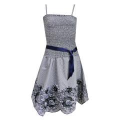 Teens Mädchen Sommerkleid dunkelblau 1366200.