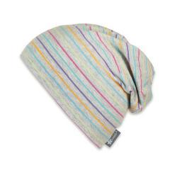 Mädchen Sommermütze Slouch-Beanie, UV-Schutz 50+, grau - 1521904