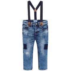 Jungen Hose Jeanshose, blau - 4.532