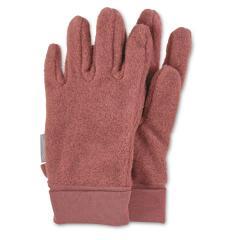 Mädchen Handschuhe Fingerhandschuhe Microfleece, hellrot -4331410