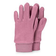 Mädchen Handschuhe Fingerhandschuhe Microfleece, helllila - 4331410