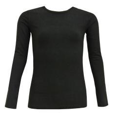 Mädchen  Langarmshirt Shirt, schwarz - 763123
