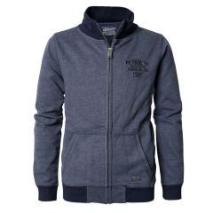 Jungen Sweatjacke Jacke mit Taschen und Reißverschluss, blau - B-PS19-SWC382