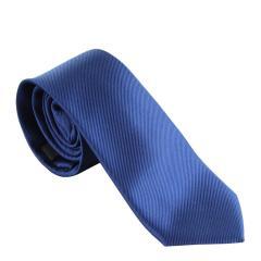 Jungen Schlips Krawatte zum binden gemustert, blau - 9964300db