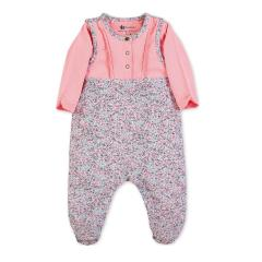 """Baby Mädchen Strampler-Set mi Pulli von Sterntaler Jersey """"Maus Mabel, rosa-grau-meliert - 2602001-rosa"""