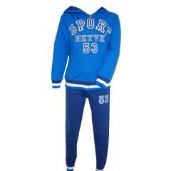 Jogginganzug Trainingsanzug Jungen 2-teilig, blau