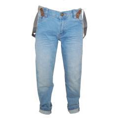 Jeans mit abnehmbaren Hosenträgern Jungen, jeans