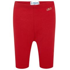 Baby Mädchen Legging lang einfarbig, rot - 703