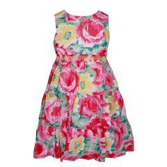 Trägerkleid Mädchenkleid Kleid Sommerkleid, gemustert