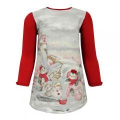 Baby Mädchen Kleid, rot