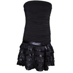 Festkleid Cocktailkleid Mädchen Frauen, schwarz