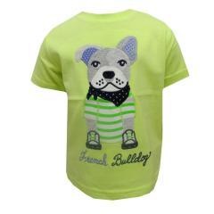 1064 wei/ß Baby Jungen T-Shirt Kurzarm Hunde Mayoral