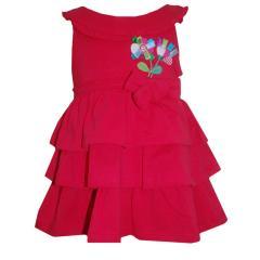 Baby Mädchenkleid, rot