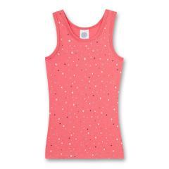 Mädchen Unterhemd Konfetti-Print, pink-weiß - 334933