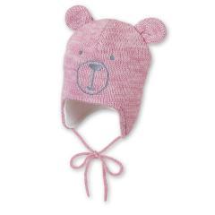 """Baby Mädchen Strickmütze gefüttert Wintermütze zum Binden mit Öhrchen """"Teddy"""", rosa  - 4701961"""