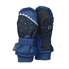 Jungen Fäustlinge Fausthandschuh Thermo-Handschuh Haifisch, blau - 4321603