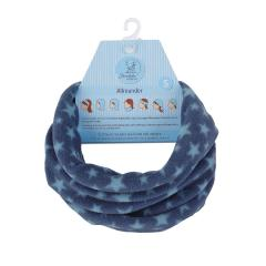 Jungen Loop Fleece Sternemuster, tintenblau - 4521852