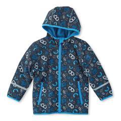 Jungen Softshell Jacke Regenjacke gefüttert von Sterntaler, dunkelblau 5651605