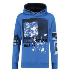 Jungen Hoodie Kapuzenpullover, blau - T83660 2610