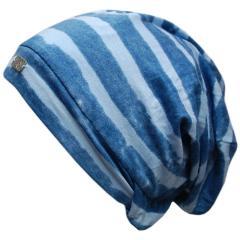 Mädchenmütze Stoffmütze Mütze, blau