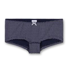M/ädchen Bikini mit UV-Schutz 50+ dunkelblau 440437 pink gepunktet Sanetta