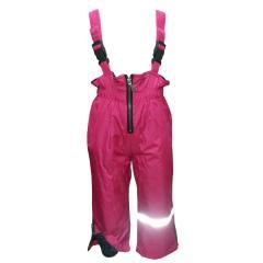 Baby Mädchen Regenhose Matschhose Skihose Latzhose Fleecefutter wasserundurchlässig, pink,Größe 86 86 | pink |