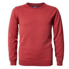 Jungen Pullover Jersey Strickpullover Langarmshirt, rot - B-PS19-KWR280r