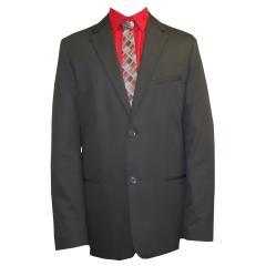 festlicher Jungen Anzug Jacket und Hose, schwarz