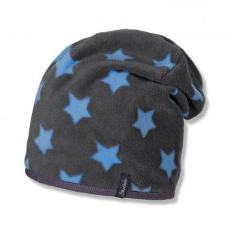 Jungen Beanie Sterne, blau - 4521609b