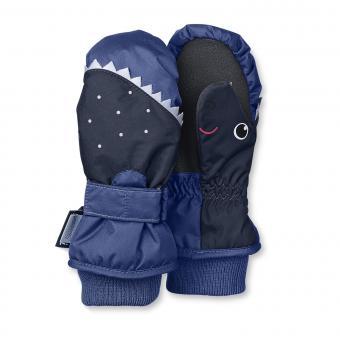 Jungen Fäustlinge Fausthandschuh Thermo-Handschuh Haifisch, blau - 4321603b