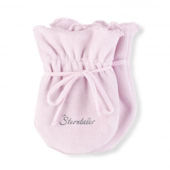 Baby Mädchen Faust Handschuhe Kratzfäustel, rosa - 4001485