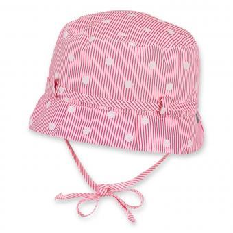Mädchen Sommerhut zum Binden, Hut UV-Schutz 30, rot - 1411902