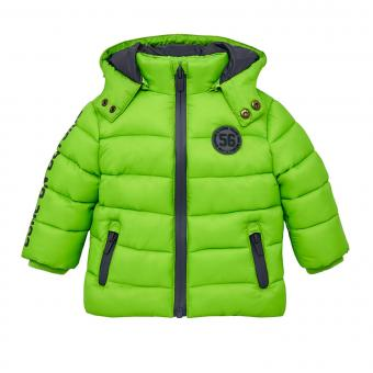 Jungen Winterjacke Anorak, grün -2.483g