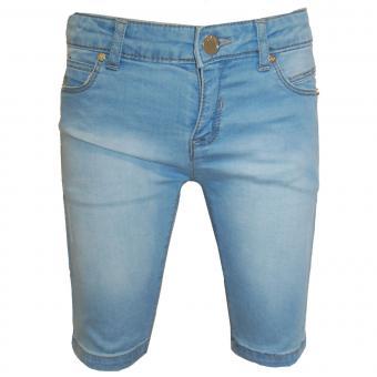 Mädchen Jeans Bermuda, jeansblau