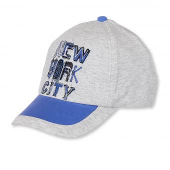 Schirmmütze Schildmütze Sommer Jungen New York, grau  - 1631701