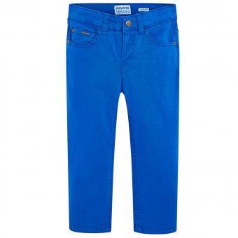 Jungen festliche Stoffhose, blau - 509pb