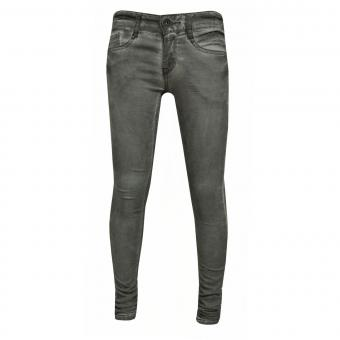 Mädchen Hose Jeans Washed Look, grau