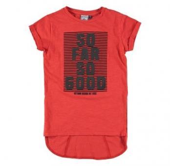 Mädchen T-Shirt, rot - RJG-73-205
