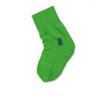 Kinder Gummistiefelsocken Microfleece Socken mit hohem Bund, einfarbig, grün – 8501480