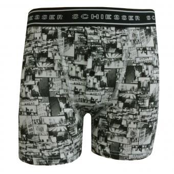 Jungen Unterhose Shorts, schwarz - 158884