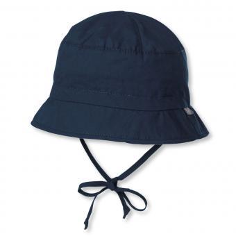 Jungen Sonnenhut Fischerhut einfarbig, marine - 1501450