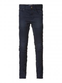 Jungen Teens Stoffhose Hose einfarbig, dunkelblau - TRO572